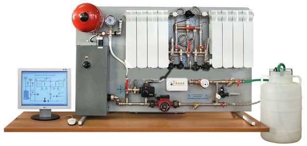 Проведение лабораторных работ по курсам «Теплоснабжение», «Отопление и отопительные системы», «Теплотехнические измерения» и «Автоматизация систем отопления» в высших, средних и профессиональных учебных заведений