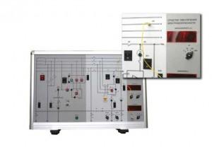"""Лабораторный стенд """"Электробезопасность трехфазных сетей переменного тока"""" БЖ 6/1"""