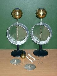 Электрометры (пара) с набором принадлежностей