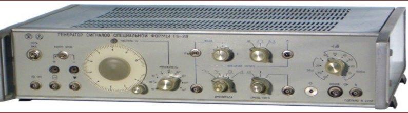 Генератор сигналов, Г6-28